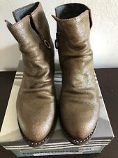 Fiorentini  Baker Rusty Rocker Goodyear Citrino Ankle Boots Womens Booties 38