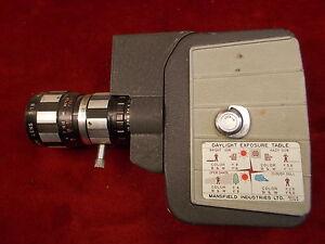 "#370 ESTATE FIND, RARE MANSFIELD INDUSTRIES 8mm CAMERA ""HOLIDAY REFLEX ZOOM"""