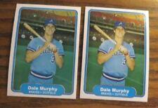 1982 Fleer Baseball #443 Dale Murphy - Braves (2)