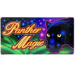 Panther Magic Aristocrat Poker Pokies Gaming Machine Advertising Artwork 1998