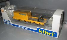 Kibri 26264 Schutzwagen mit Auflage für MFS 100 und Container _ Fertigmodell
