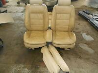 Innenaustattung Leder Sitze Gurte Verkleidungen Audi A6 C5 Avant Bj.1997-2001