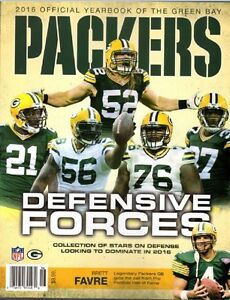 GREEN BAY PACKERS YEARBOOK 2016 PROGRAM RODGERS 2017 SUPER BOWL CHAMPIONS?