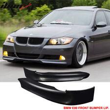 BMW E90 05-08 328 325 335 3-Series PP Front Bumper Lip Spoiler Splitter