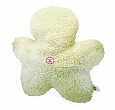 """SPOT ETHICAL NATURAL PLUSH WOOLY FLEECE 8"""" CHEWMAN DOG TOY. TO THE USA"""