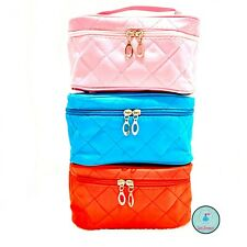 Women Multifunction Travel Pouch Toiletry Organizer Cosmetic Bag Makeup Case