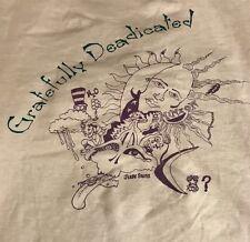 Vintage Grateful Dead T Shirt Gratefully Deadicated 90's Hippie Grunge
