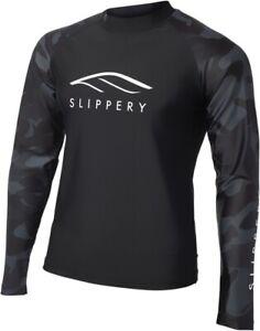 Slippery Long Sleeve Rashguard Black | Camo Large 3250-0131