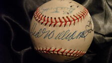 TED WILLIAMS 15 HOFs SIGNED AUTOGRAPHED BASEBALL PSA SNIDER CRONIN DICKEY MUSIAL