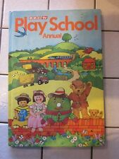 Play school Annual Published 1983. Good Condition Unclipped. MULTIPLE PHOTOS,