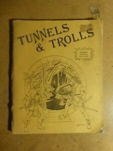 Tunnels and Trolls Rules Booklet (T&T) A3 Version