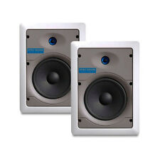 "BLOWOUT!!! Leviton SGI65 White 6.5"" Two-Way Flush Mount In-Wall Speakers (Pair)"