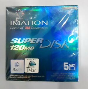 Imation Super Disk 120MB for Mac OS Pack of 5
