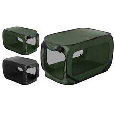 Dog Kennel Pop Up Pet Travel Portable Animal Puppy Holiday Tent 93cm x 54cm