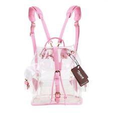 Girl's Summer Lovely Backpack Cute Clear Transparent Bag Satchel Tote School Bag
