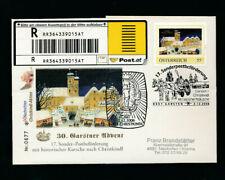17. Christkindl Reco Kutschenpost Garsten-Christkindl  Beleg Nr. 0677  (CH25)
