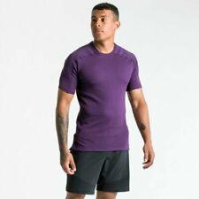Mens Nike Tech Pack S/S Short Sleeve Running Top Size M / L (Ci8818 525) Purple