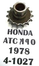 1978 HONDA ATC 90 3 WHEELER FRONT SPROCKET GEAR  15 TOOTH