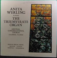 Anita Werling-The Triumvirate Organ-Franck-Litaize-Duruflé-Demessieux-FAST SHIP!