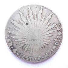 MEXIQUE 8 réales 1847 G