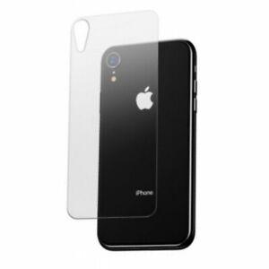 Verre Trempé Anti-choc vitre arrière iPhone 8/8+/X/XS/XS Max/XR/11/11 Pro/12