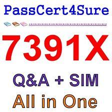Avaya Aura Call Center Elite Multichannel Implementation 7391X Exam Q&A+SIM