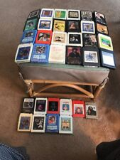 34 8 Track Tapes Used Country Hank Elvis Bob Patsy Conway Merle Kris FreddyWilly