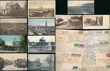 DENMARK 1911-34 PICTURE POSTCARDS...14 ITEMS
