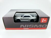 1:64 Kyosho Nissan NISMO Minicar Collection Skyline GT-R GTR Z-Tune R34 Silver I