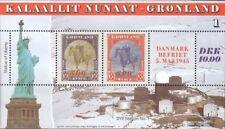 Dänemark-Grönland Block6 (kompl.Ausg.) postfrisch 1995 Kriegsende