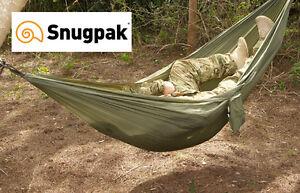 Snugpak TROPICAL HAMMOCK with Suspension Attachment System & Stuff Bag