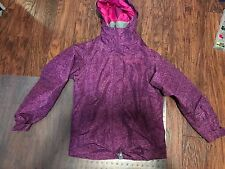Girl's 686 sixeightsix Smarty Ginger Snowboard Jacket Light Plum L LARGE