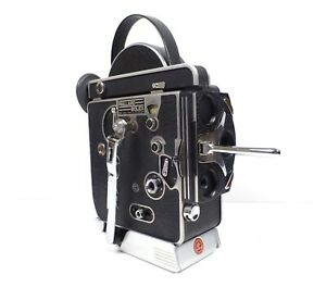 Paillard Bolex REX 16mm Movie Camera 1959 SN#173625 As Is