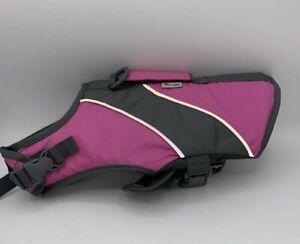 Good 2 Go PINK FEMALE Dog Flotation Life Preserver Vest XS Dog 11-18lbs NWOT