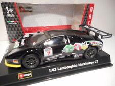 Véhicules miniatures noirs Burago pour Lamborghini