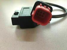 Euro5 OBD2 6 Pin Plug Adaptor Cable Motorcycle Moto Guzzi, Piaggio Vespa