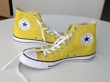 CONVERSE CHUCK TAYLOR ALL STARS high top sneakers shoes YELLOW - Size M8 / W10