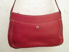 AUTHENTIQUE sac à main  ETIENNE AIGNER  cuir TBEG  bag vintage