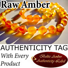 Baltic Amber Necklace Baby Child Agba® Certified Golden Honey