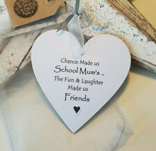 Friend Heart Gift  - Chance made us School Mum's Heart : Card Alternative