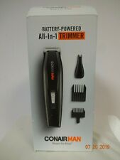 Conairman Battery Powered All in One Trimmer for Men