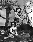 8x10 Print Jane Adams Pat Alphin Halloween Cheesecake Pin Up 1946 #JAPA