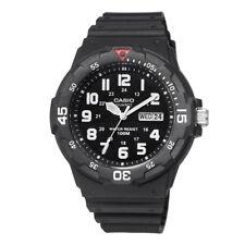 Casio Men's Quartz Rotating Bezel Black Resin Band 45mm Watch MRW200H-1BV