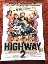 Highway 2 - Kinoplakat Poster A1, Burt Reynolds, Jackie Chan, Dean Martin, Silva