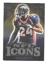 CHAMP BAILEY 2009 ICONS NFL ICONS GOLD #IC-CB SERIAL #139/199 DENVER BRONCOS