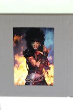 Motley Crue Nikki Sixx Original 1983 Shout At The Devil 35MM Slide Photograph
