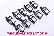 WHOLESALE JOB LOT OF 10x ZEFAL CYCLE WATER BOTTLE HOLDER CAGES BLACK LOW PRICE