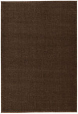 ASTRA Samoa Tappeto tinta unita 6870/001/066 Marrone 160x230cm NUOVO
