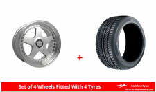 Dare Aluminium One Piece Rim Wheels with Tyres