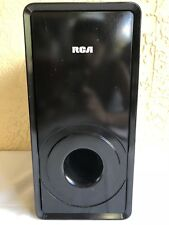 RCA RT2906 Home Theater Speaker Subwoofer Black
